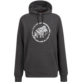 Mammut Logo ML Hoody Men, black melange prt2